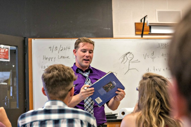 Kevin G. Cox followed in his father's footsteps as a physics teacher at Burncoat High.