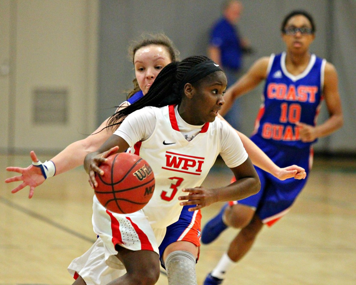 Ama Biney has quickly become one of the top guards in the NEWMAC.