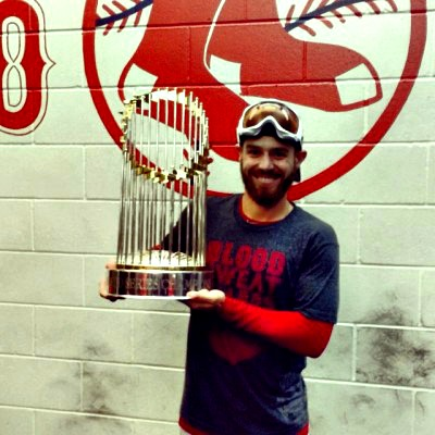 Brian Abraham joined the Red Sox organization at the right time -- 2013.