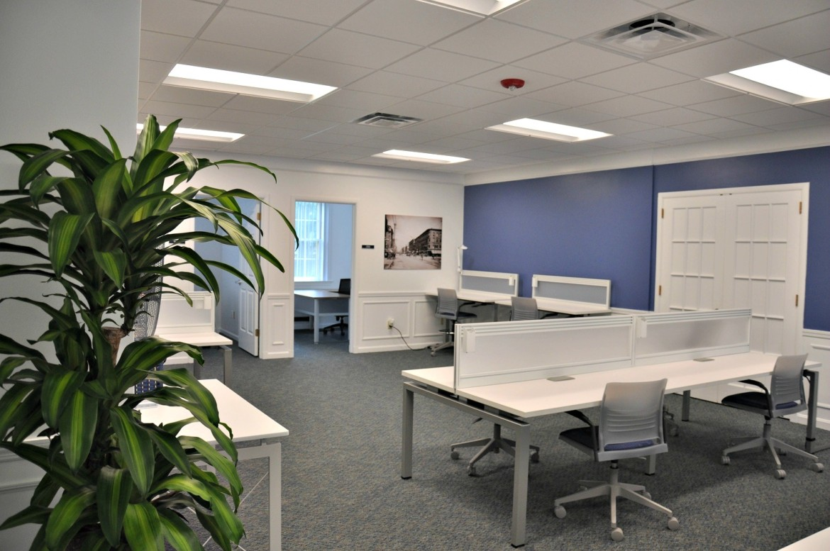 Open office and workspace