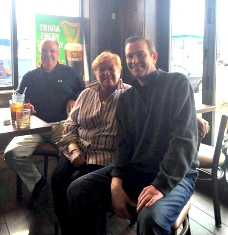 Tim Quinn expects to see parents Pat and Anne, former city employees retired to the Cape, back in the Woo more often now that his West Boylston Street pub is about to open.