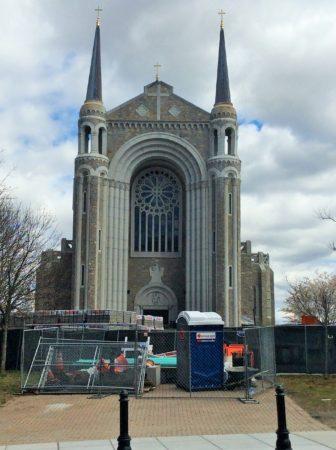 The Notre Dame des Canadiens Church at Salem Square