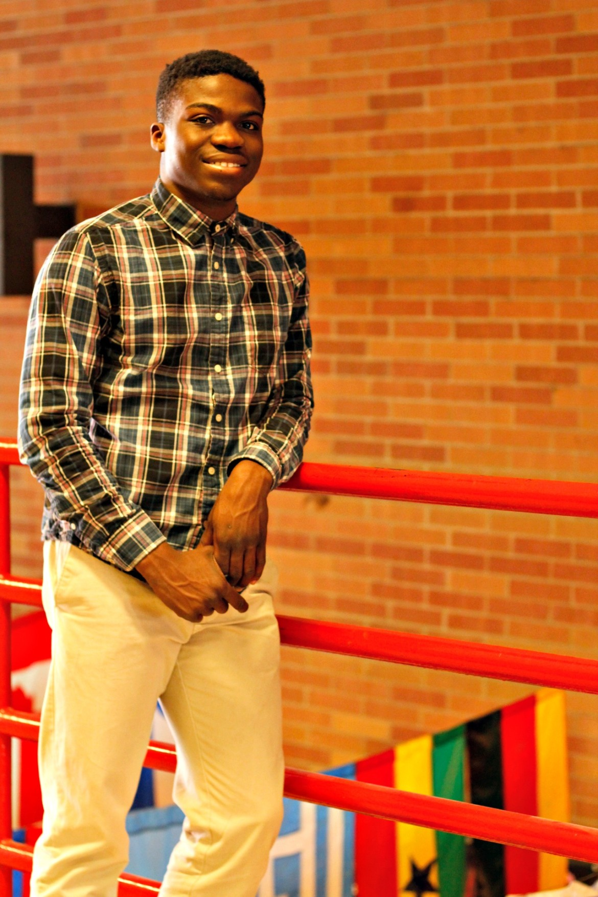 Adusei stands tall at South.