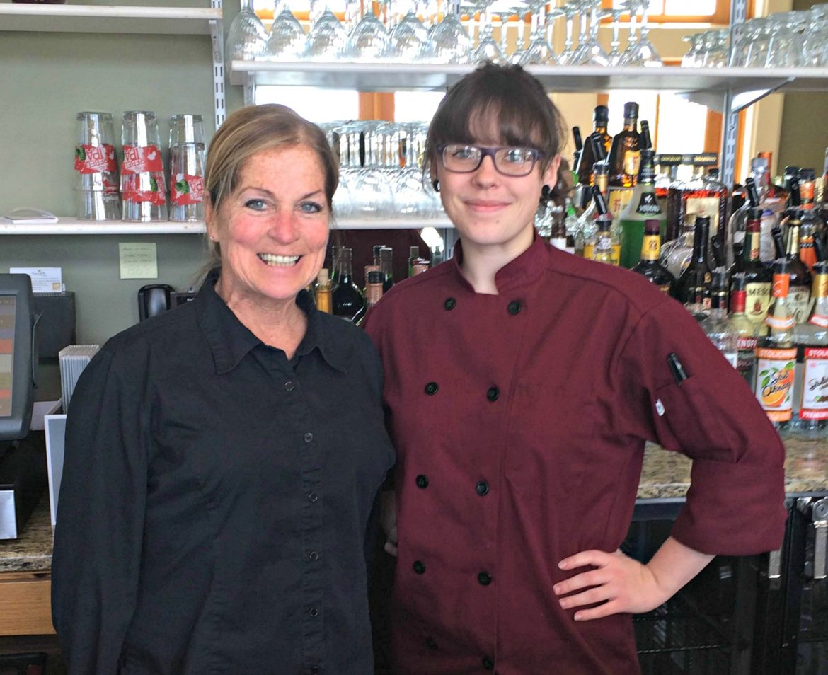 Melinda Taylor, longtime manager, and Cassie Ramsey, the new chef, hope to keep the regulars coming back to the new Grill on the Hill.