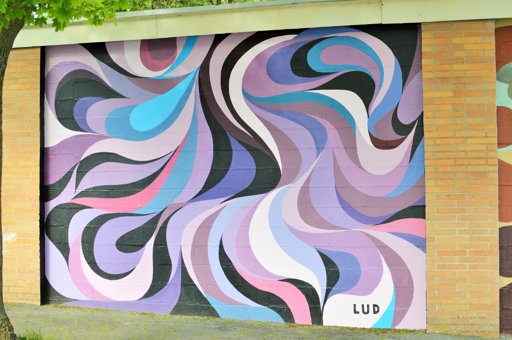 Louis Hairpetian's mural