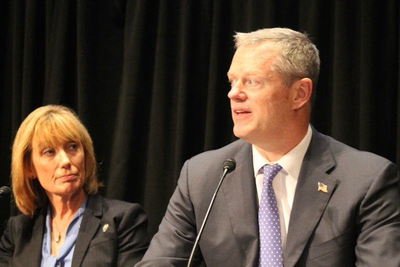 "Gov. Charlie Baker and his New Hampshire counterpart Maggie Hassan expound the virtues of a Mass. opioid addiction program that could become a ""national model,"" they say."