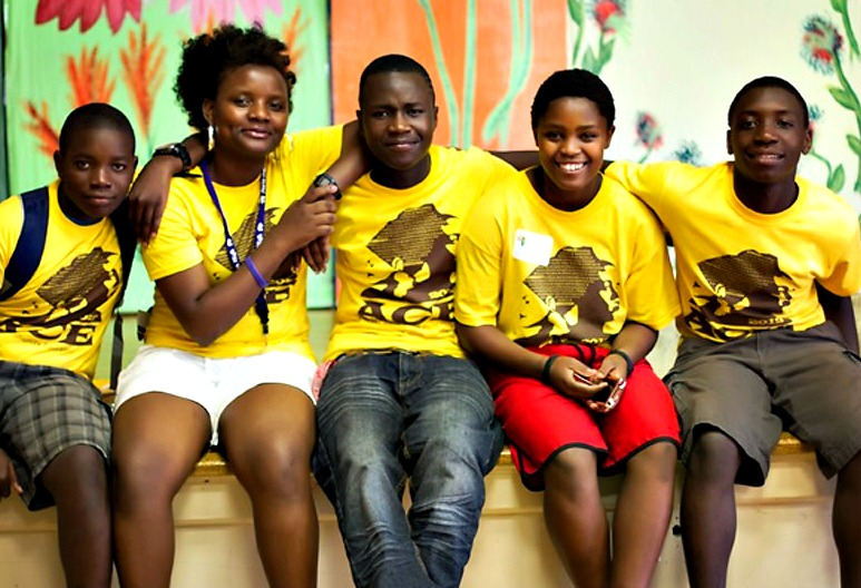 ACE helps African refugee children not only learn but develop a sense of community.