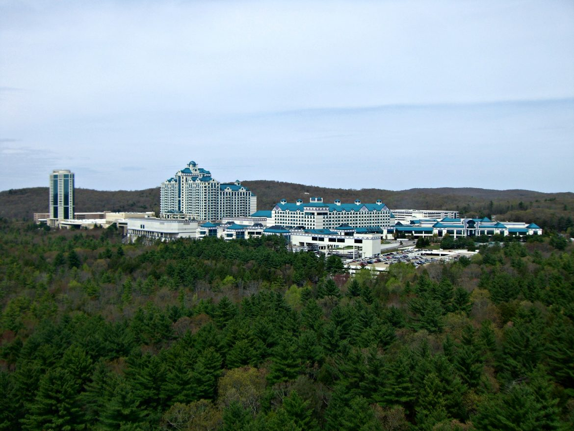 Foxwoods will keep you deep in the wilderness, in more ways than one Sinacola says.