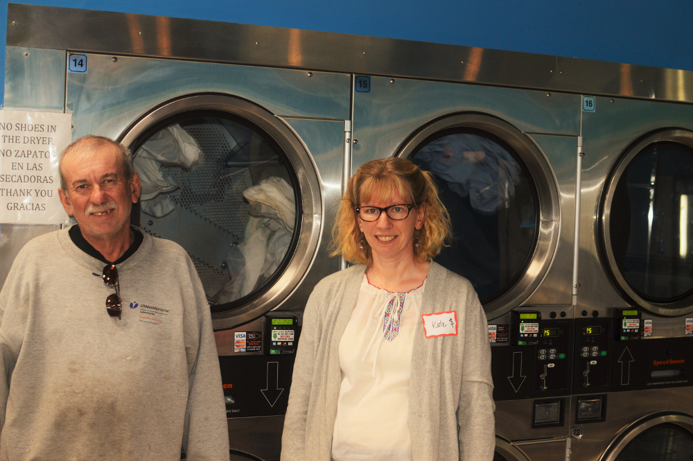 Laundry Love has been a successful outreach program for Ward's mission.