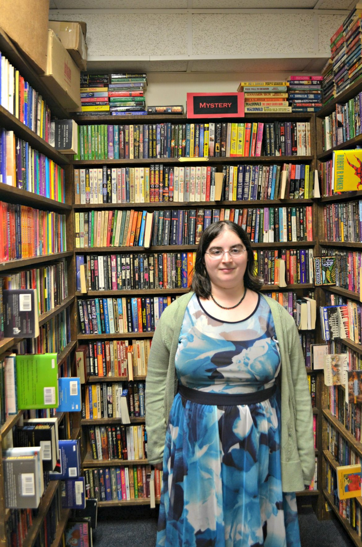 Sarah Slocum, of Sutton, found a need for an LGBT book club closer to home.