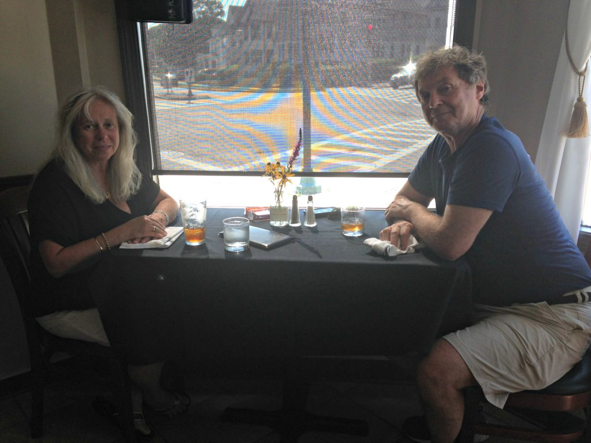 Susan and Robert Reynolds have already become repeat customers of the new restaurant.