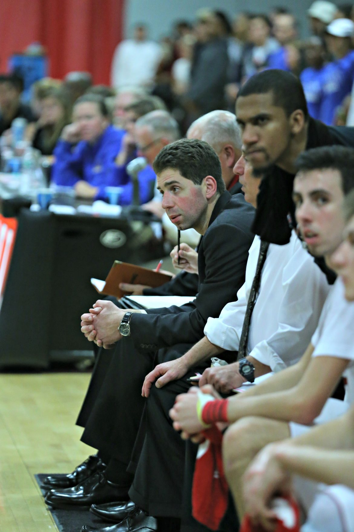 After he was finished on the court, Pat was an assistant men's basketball coach and administrator at Clark.