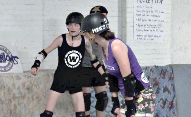 Kat Pihl, left, and Meg O'Rourke, better known as Kat Smashley and Megzatron.