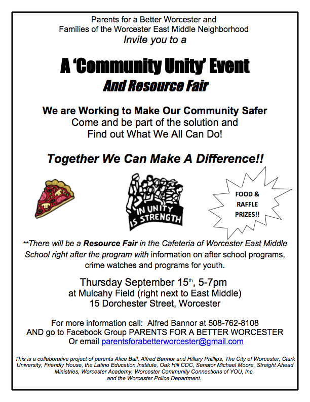 Inbox Sept 11 Youth Health Panel Seeks Members Community Unity