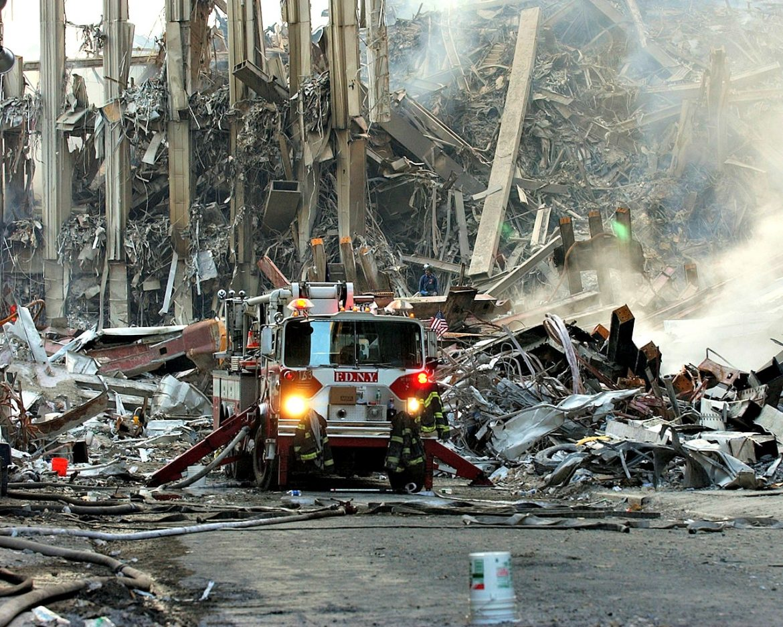 World Trade Center, New York City, Sept. 16, 2001.