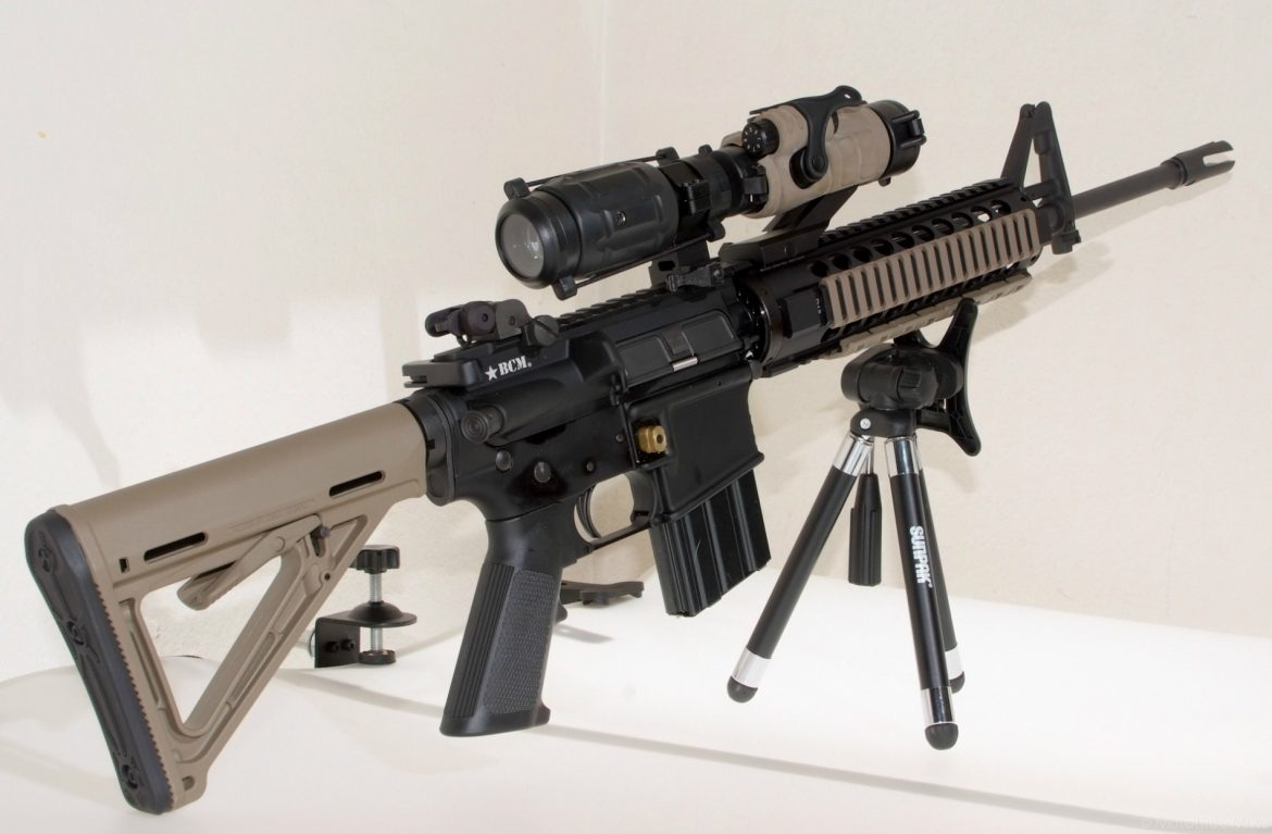 Bravo Company Mfg. modified AR-15