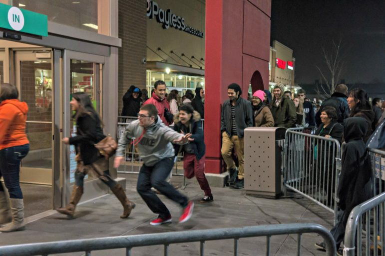 Want to skip this scene on Black Friday? Try Small Business Saturday instead.