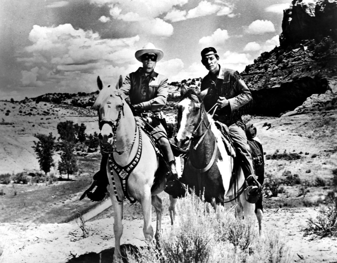 The Lone Ranger and Tonto (not to mention Silver and Scout)