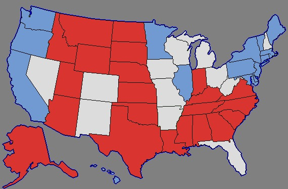 Does the Electoral College give swing states too much power?