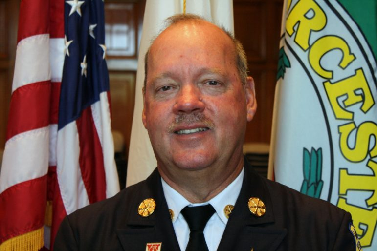 Worcester Fire Chief Geoffrey Gardell