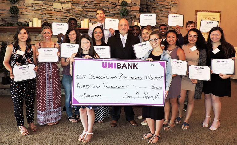 UniBank scholarships